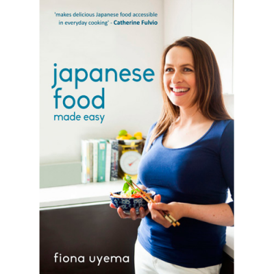 Cookbook fused by fiona uyema for Asian cuisine books
