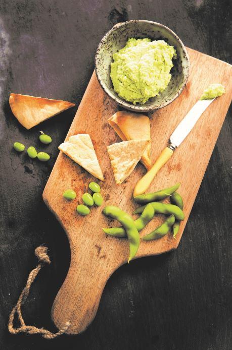 Healthy Edamame Hummus