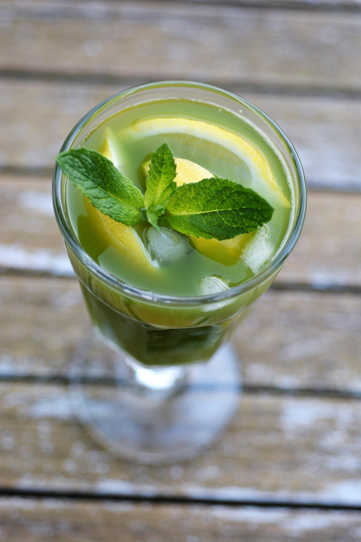 Homemade Matcha Lemonade