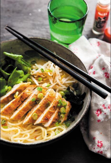 Chicken ramen bone broth fiona uyema fused healthy nutrition japanese recipe