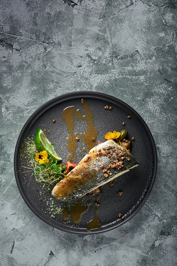 Pan Fried Seabass & Glorious Ginger