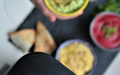 Homemade Edamame Hummus