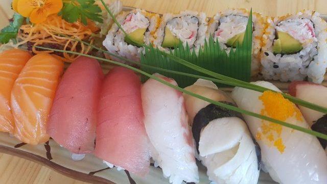 Eatokyo Dublin Sushi Bar Fused by Fiona Uyema soy sauce sushi platter