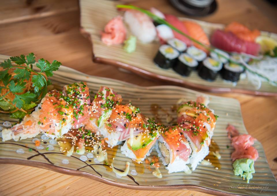 Eatokyo Sushi Bar Dublin Fiona Uyema FUSED sushi dragon rainbow roll
