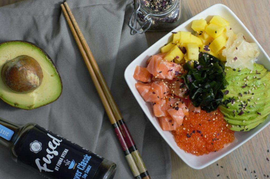 Fiona Uyema Fused Poke Bowl TV3 cooking demo recipe easy
