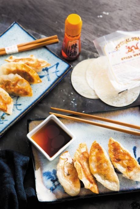 Gyoza dumplings Fiona Uyema Fused Japanese cooking recipe