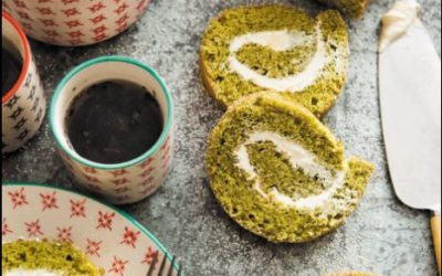 Matcha Swiss Roll (cake)