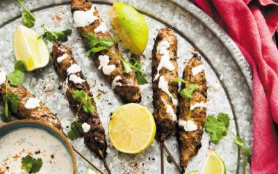 Shichimi Togarashi Lamb Kofta Kebab