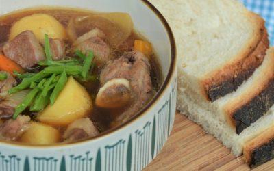 Japanese Style Lamb Stew