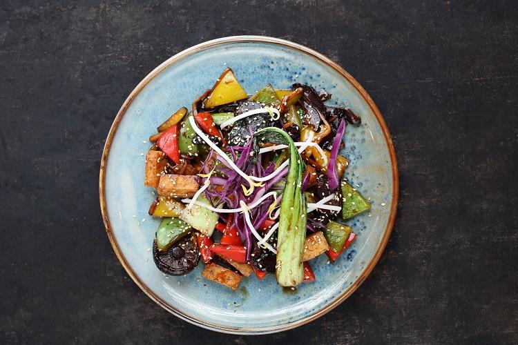 Tofu & Vegetable Stir Fry