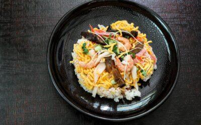 Chirashi Sushi – scattered sushi