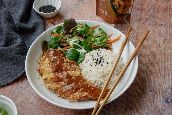 Chicken Katsu Curry Recipe Fused by Fiona Uyema