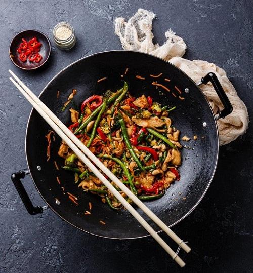 Chicken & Veg Stir Fry