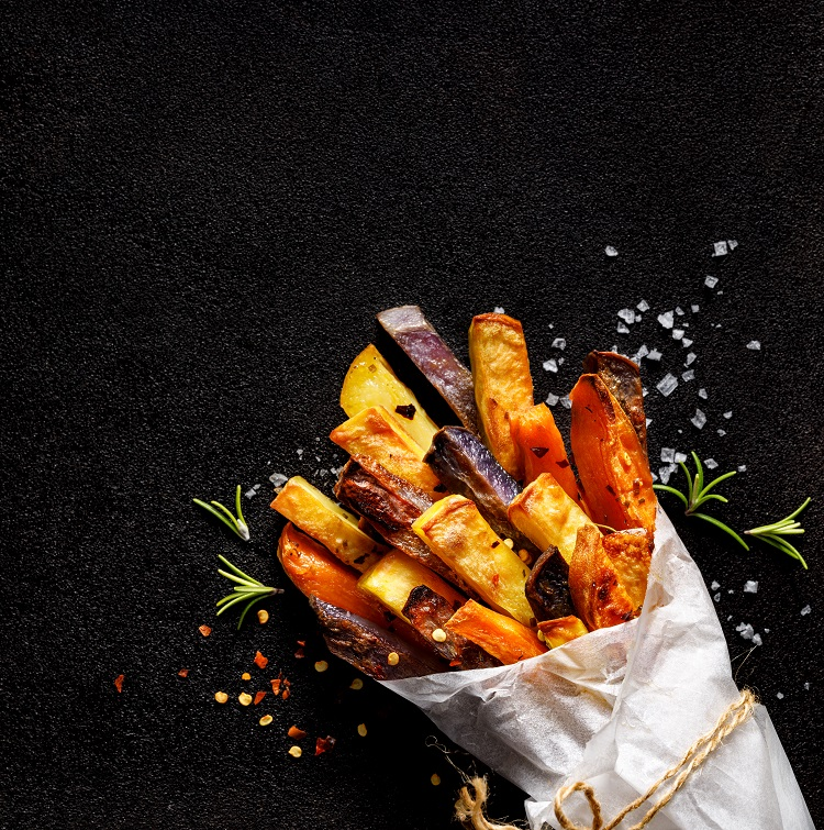 Sweet Potato Fries & Cheeky Chilli Soy