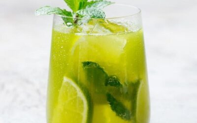 Homemade Matcha Lemonade