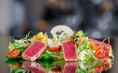 Tuna & Mango Tataki Salad
