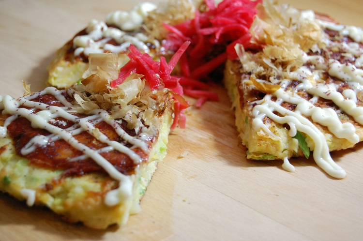 Okonomiyaki – Japanese Style Pancake