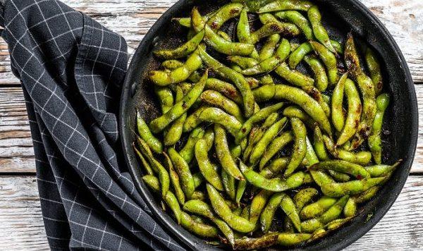 Fused by Fiona Uyema Pan Fried Edamame Recipe