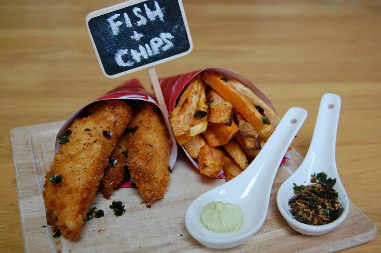 Asian Style Fish & Chips