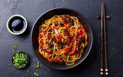 Beef & Vegetable Noodle Stir Fry