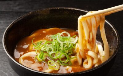 Curry Udon with Vegetables