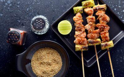 Negima Yakitori – Chicken & Spring Onion Skewers