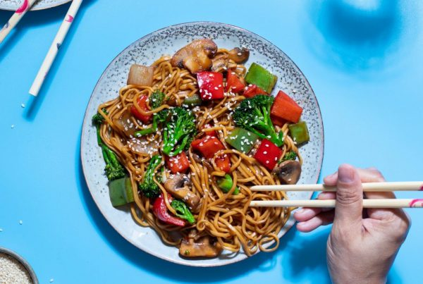 Fused by Fiona Uyema Recipe Chow Mein Stir Fry Vegetable