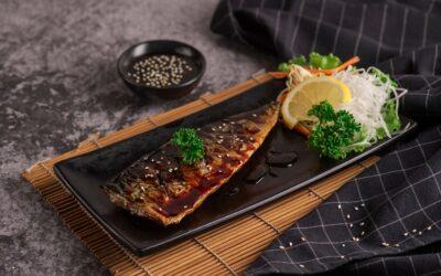 Saba Shioyaki – Grilled Salted Mackerel