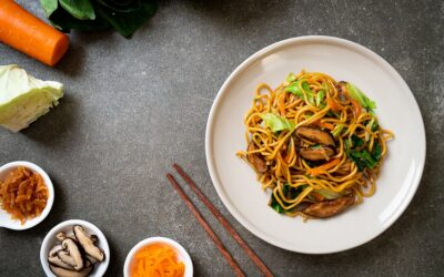 Yakisoba with Mixed Vegetables