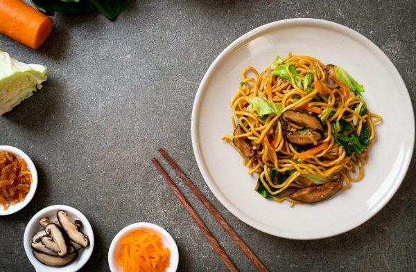 Yakisoba Noodles recipes fused by fiona uyema