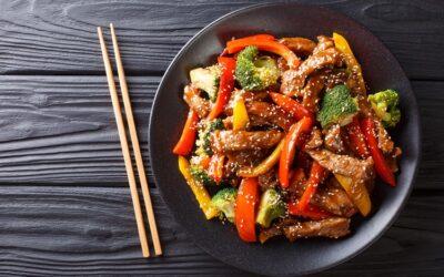 Beef & Brocolli Teriyaki Stir Fry