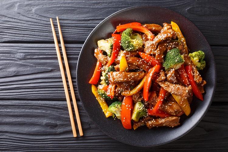 Teriyaki Beef Stir Fry Recipe Fused by Fiona Uyema