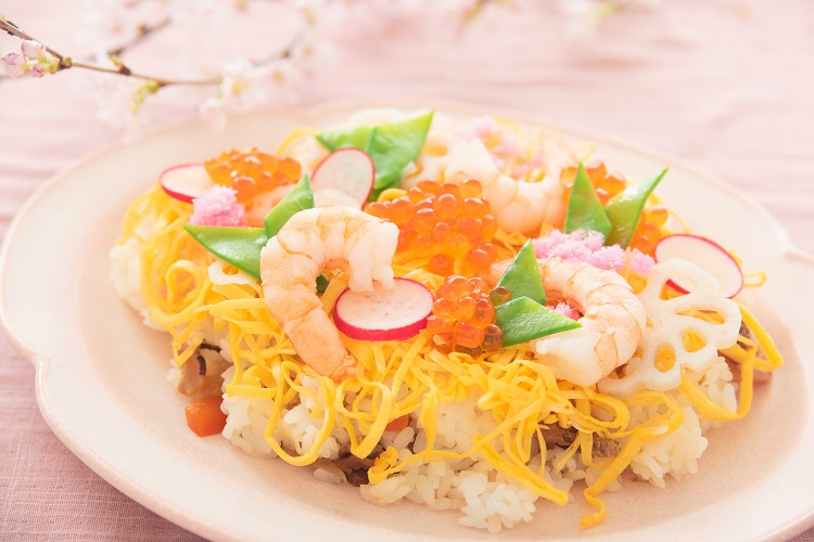 Chirashi Zushi – Scattered Sushi