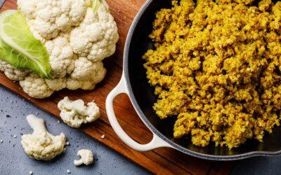 Curried Cauliflower Fried Rice