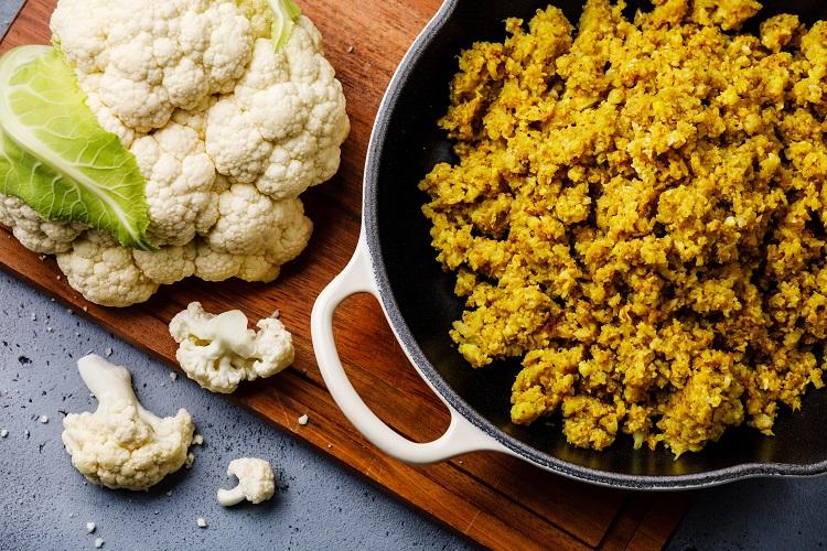 Cauliflower Fried Rice Fused by Fiona Uyema