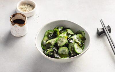 Pickled Cucumber & Seaweed Salad