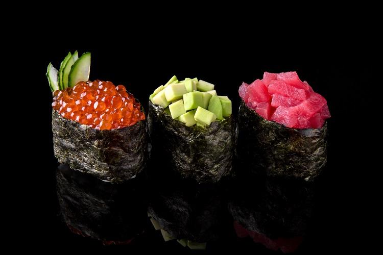 Gunkan Sushi recipe fused by fiona uyema