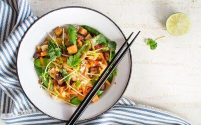 Tofu & Veg Stir-Fry with Glorious Ginger