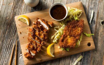 Tonkatsu – fried panko pork
