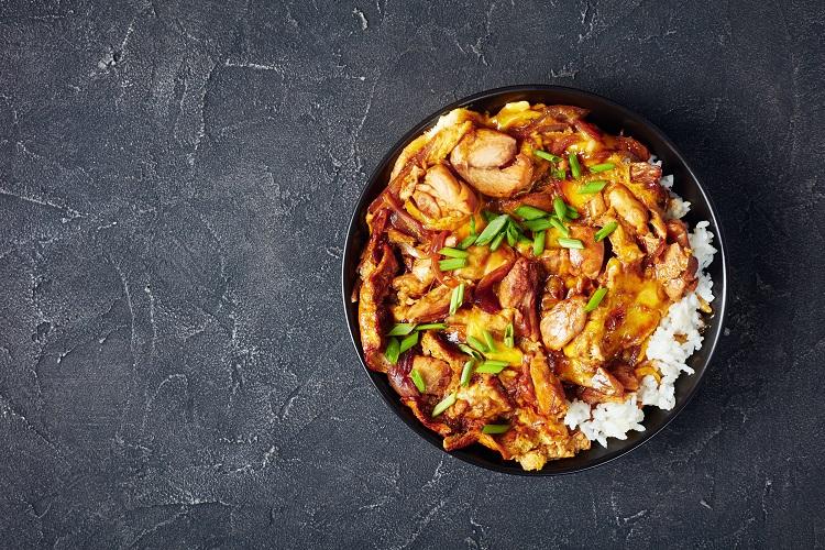 Oyakodon Rice Bowl Recipe Fused by Fiona uyema