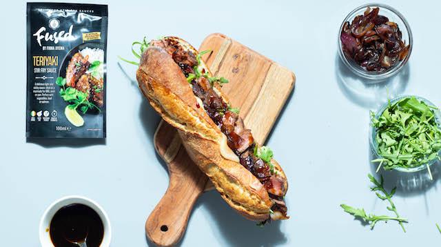 Steak Teriyaki Sourdough Baguette