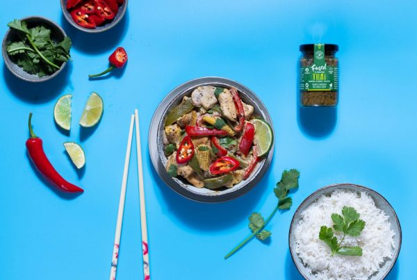 Thai Green Curry fused by fiona uyema