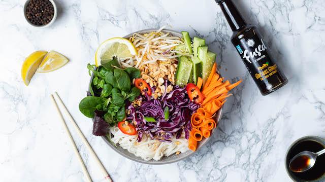 Glorious Ginger Asian Salad