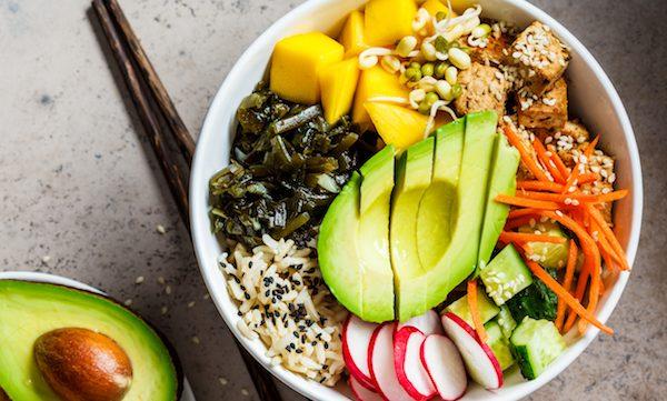 Fused by Fiona Uyema Vegan Poke Bowl recipe