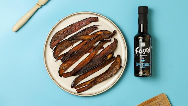 Aubergine Vegan Bacon