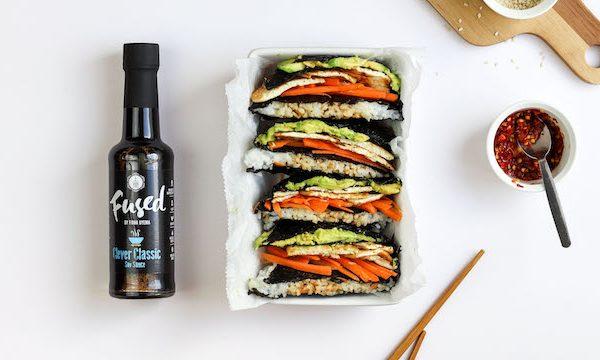 Fused By Fiona Uyema Folded Sushi Wrap Recipe