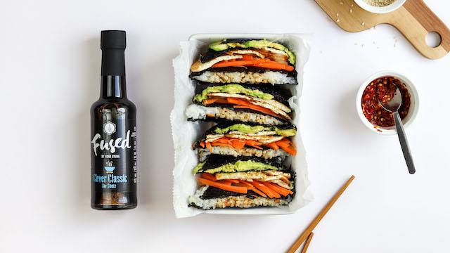 Vegan Folded Sushi Wrap